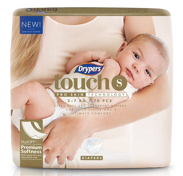 Drypers Touch S