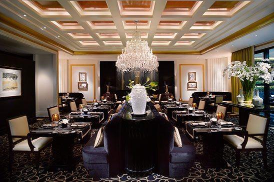 Joël Robuchon Restaurant, only three Michelin star restaurant in Singapore