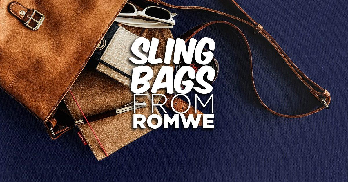 Head Out Bag-Free With These 7 Sling Bags From Romwe!