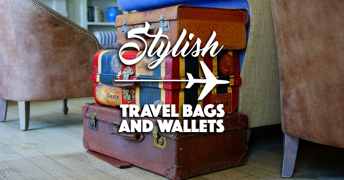 Travel In Style With These Bags And Wallets From Cotton On!