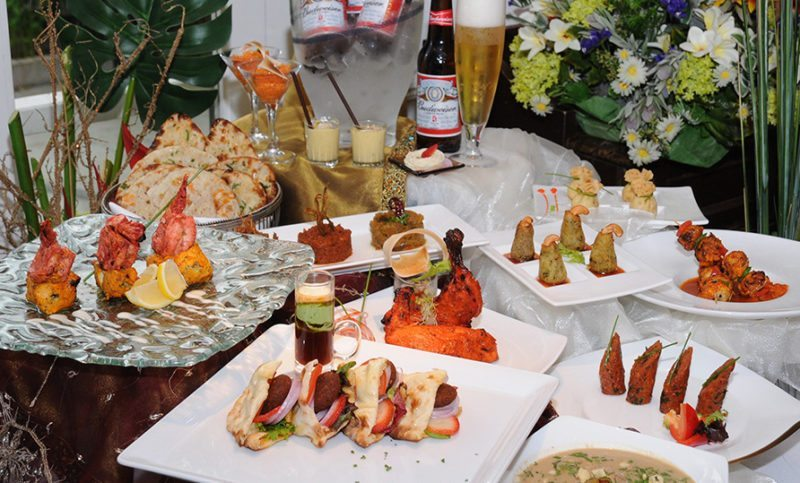 Song of India beer brunch dishes