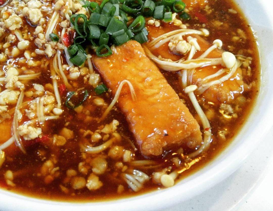 minced meat tofu