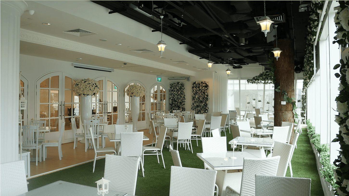 Blisshouse Theme Restaurant fairytale setting