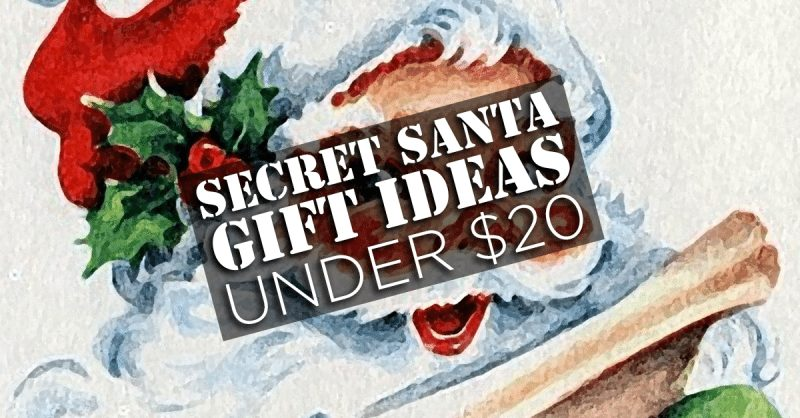 7 gifts under 20 that will work for any secret santa gift exchange