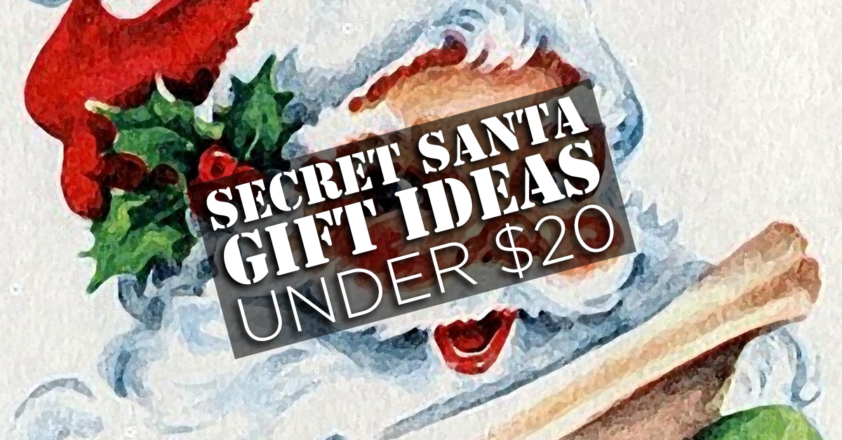 7 gifts under 20 that will work for any secret santa gift Good gifts for gift exchange