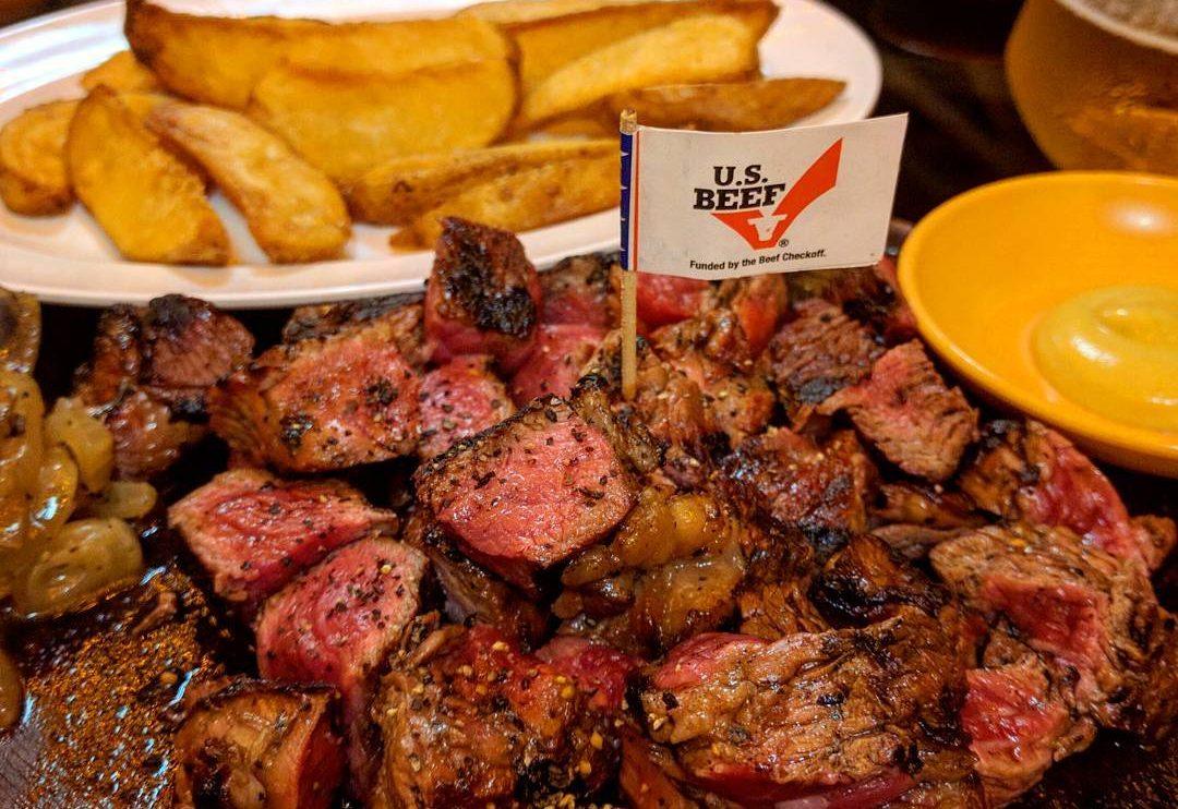 US Angus Rib-Eye Steak new ubin seafood