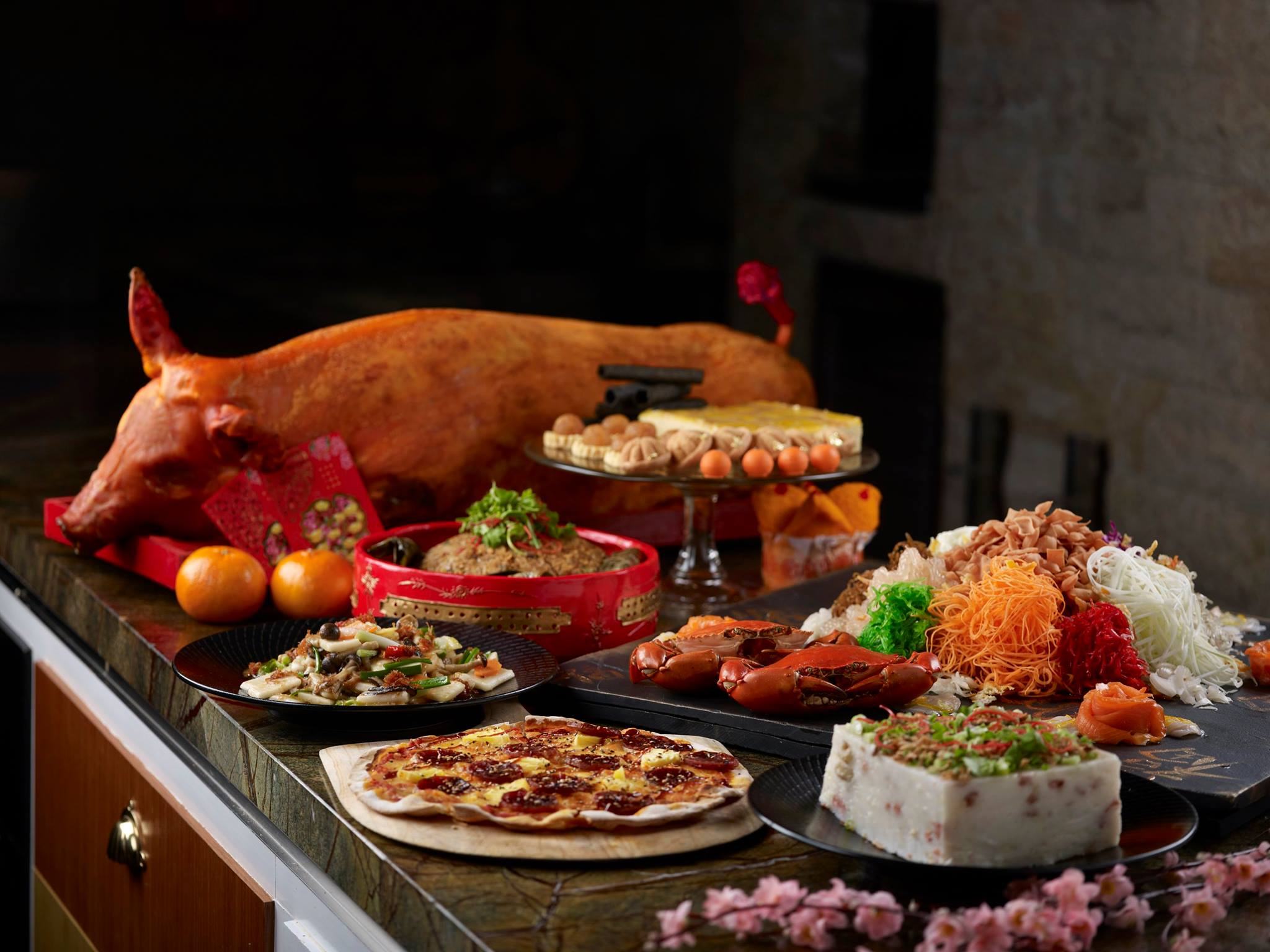 Lunar New Year Prosperity Buffet | Edge at Pan Pacific Singapore