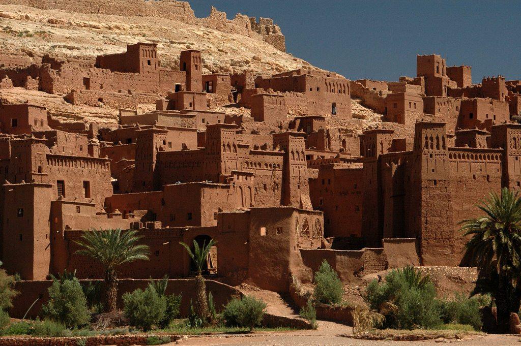 Gladiator - Aït Ben Haddou, Morocco training fighting Russell Crowe