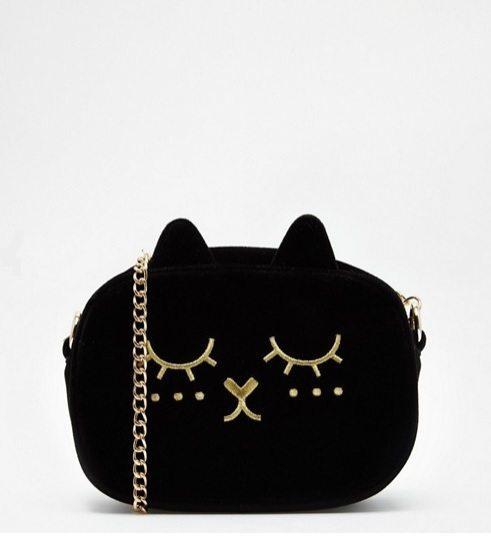 ASOS cat cross body bag