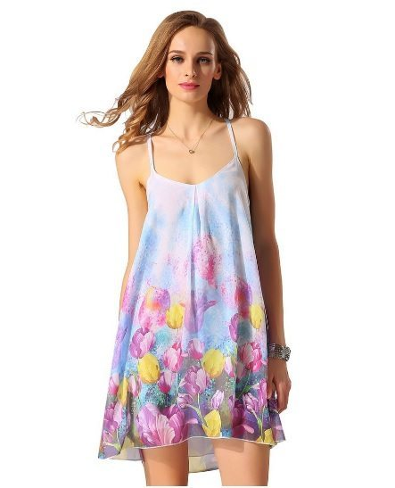 Spag strap dress