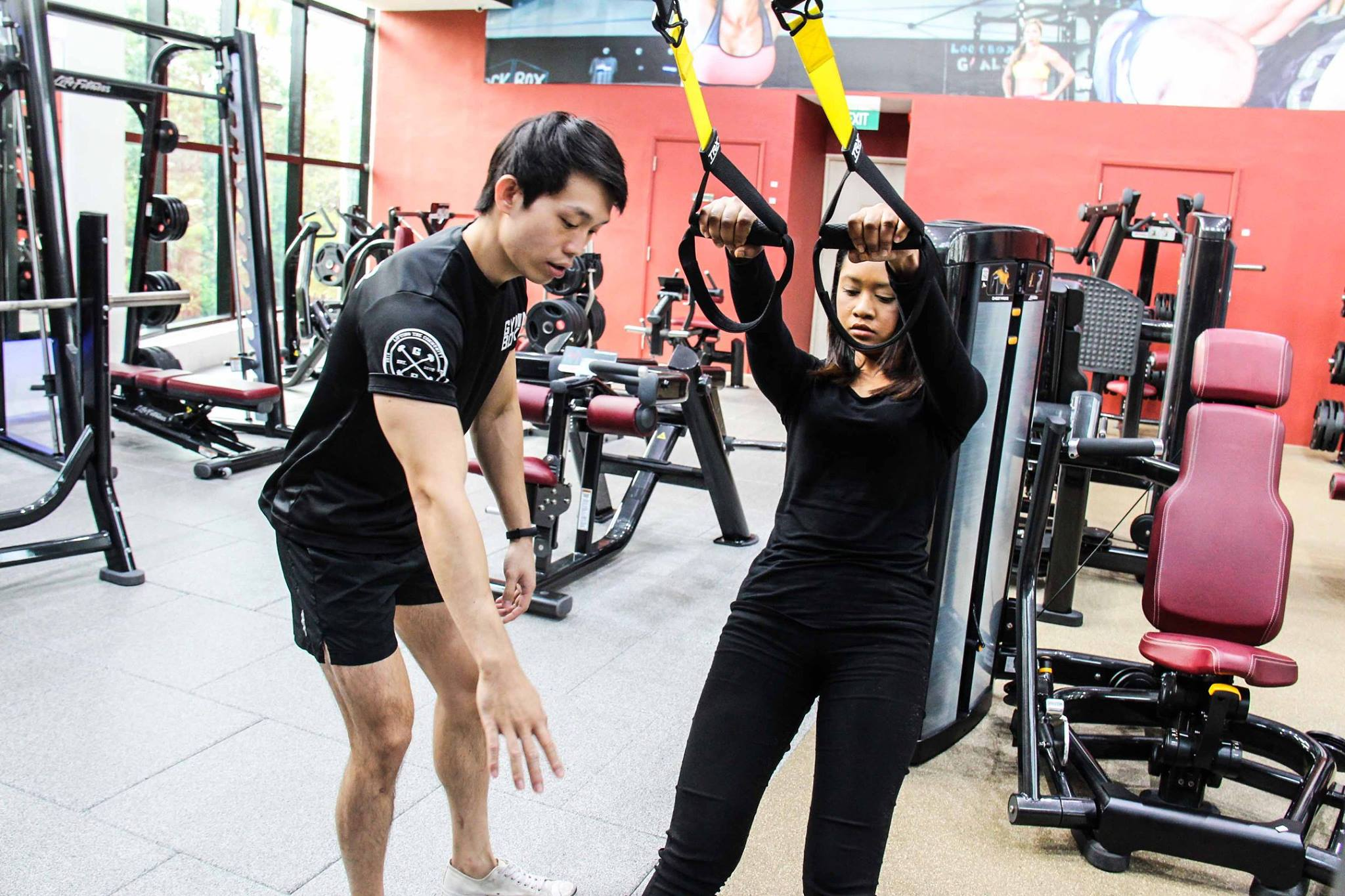 Personal trainers at Gymm Boxx
