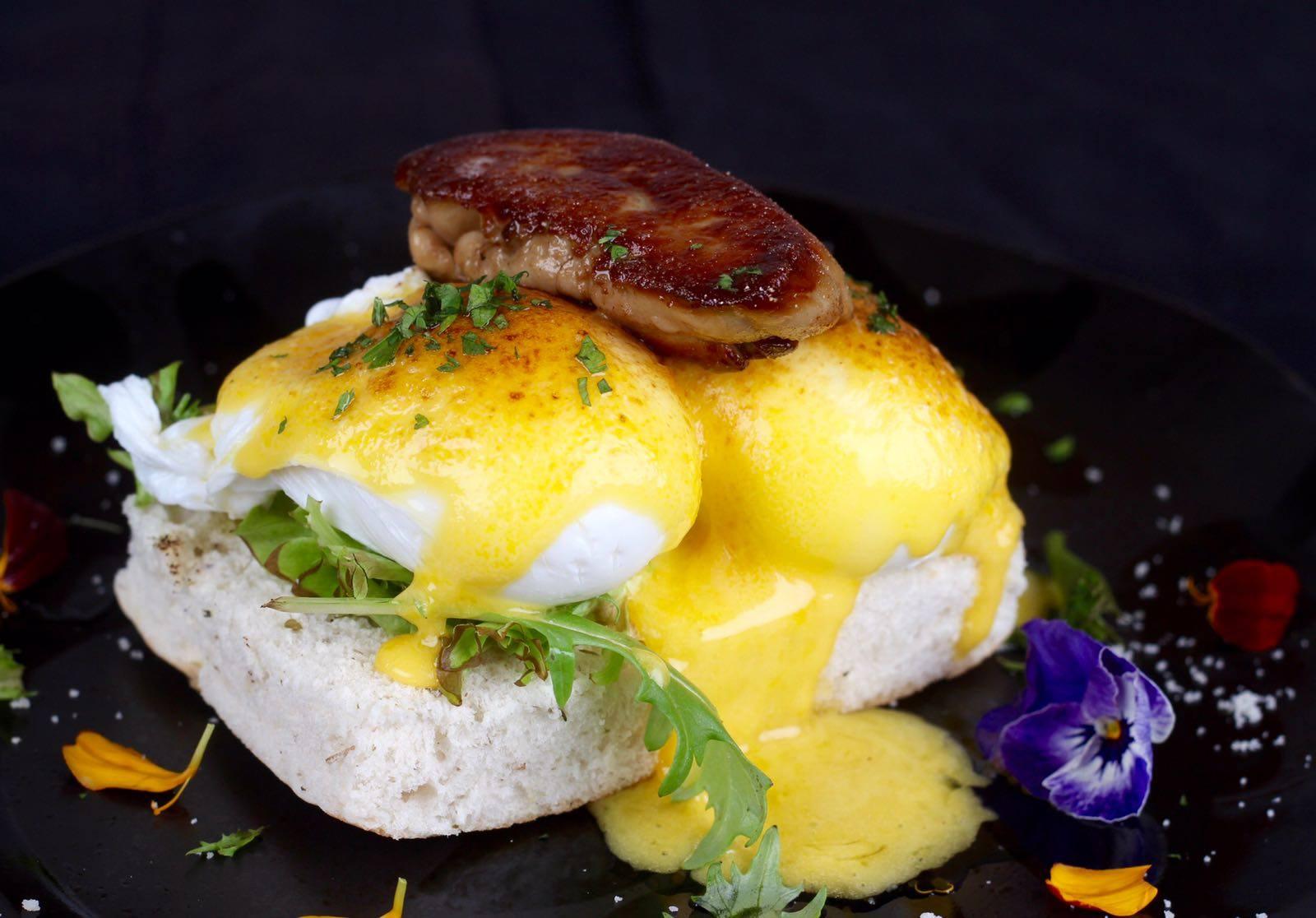 rokeby foie gras benedict