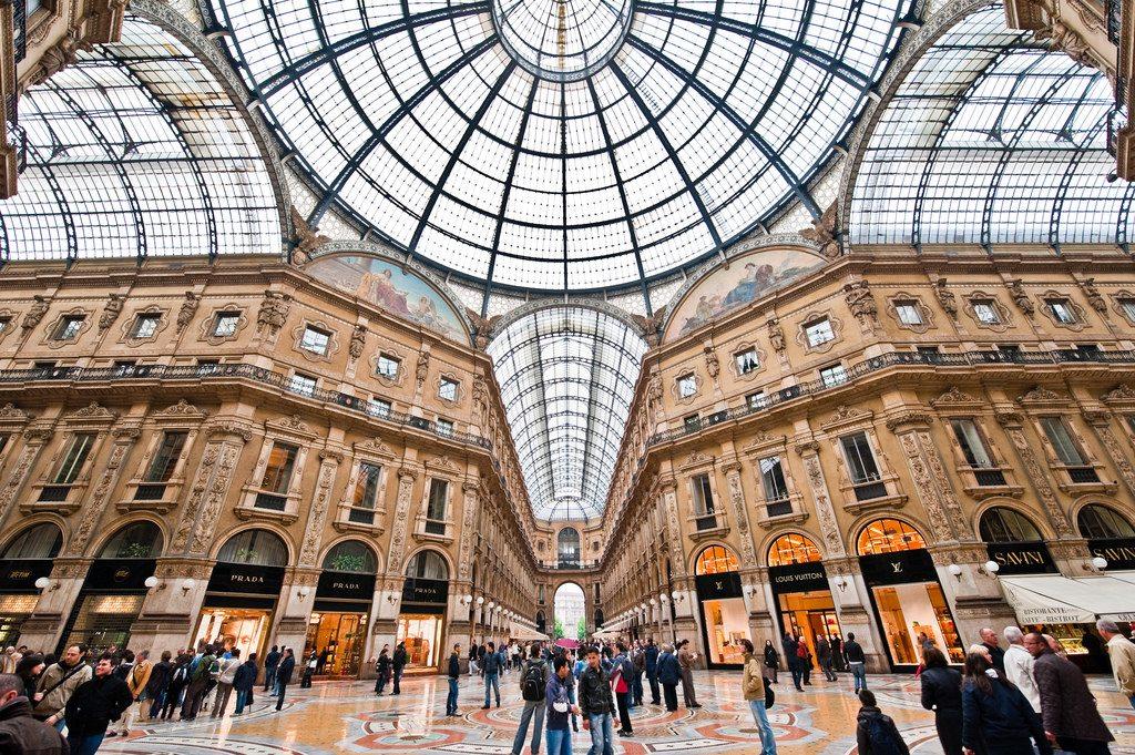 Milan Galleria Vittorio Emanuele II authentic soft leather
