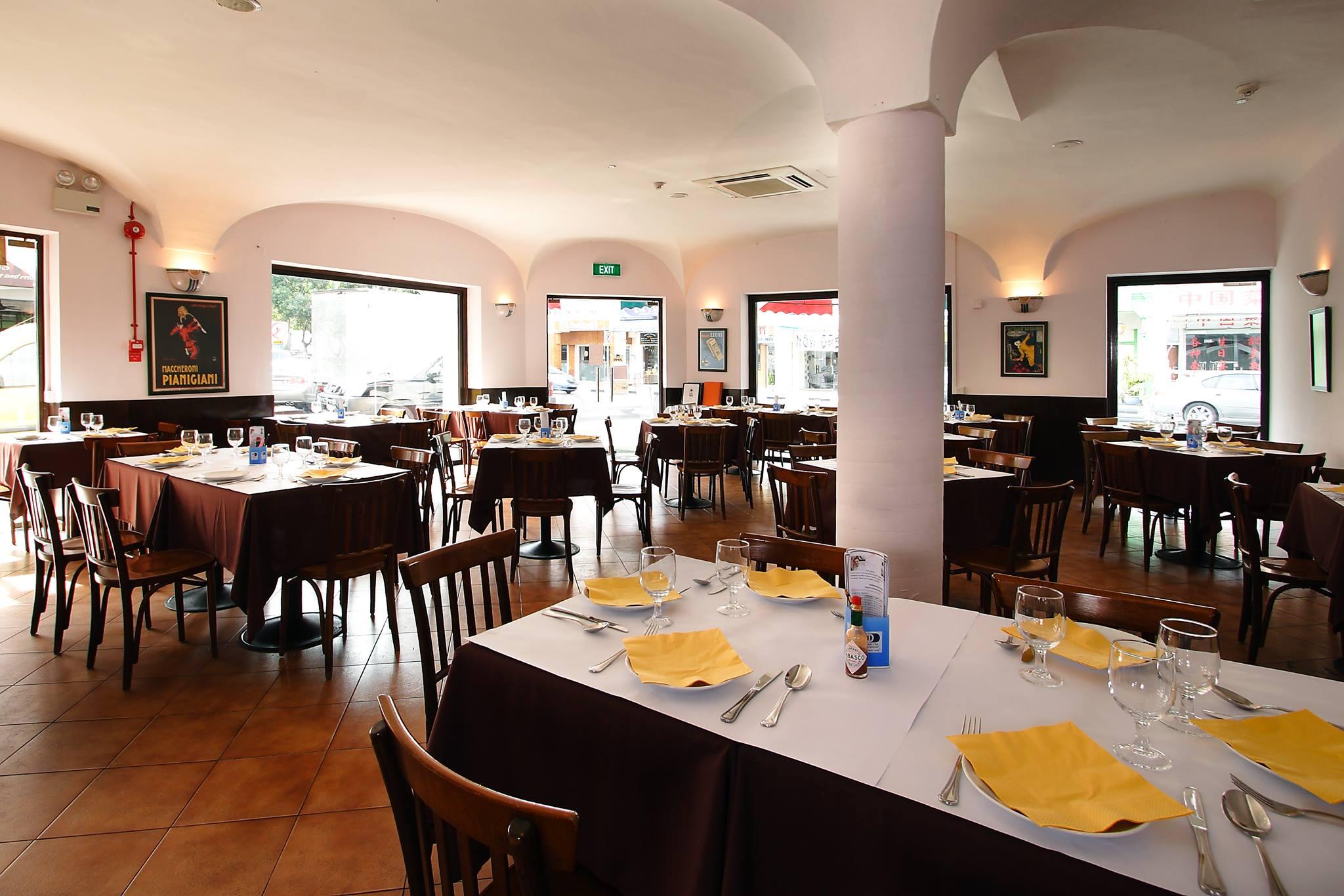 Al Forno East Coast italian restaurant