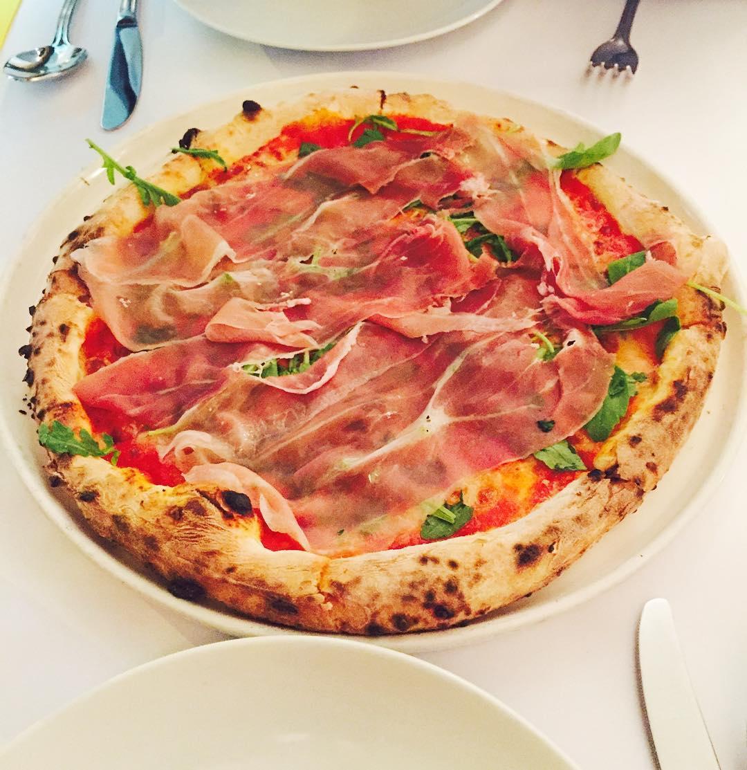 Woodfired pizza Al Forno East Coast