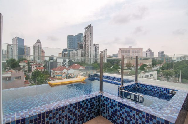Penthouse Unit with Private Jacuzzi