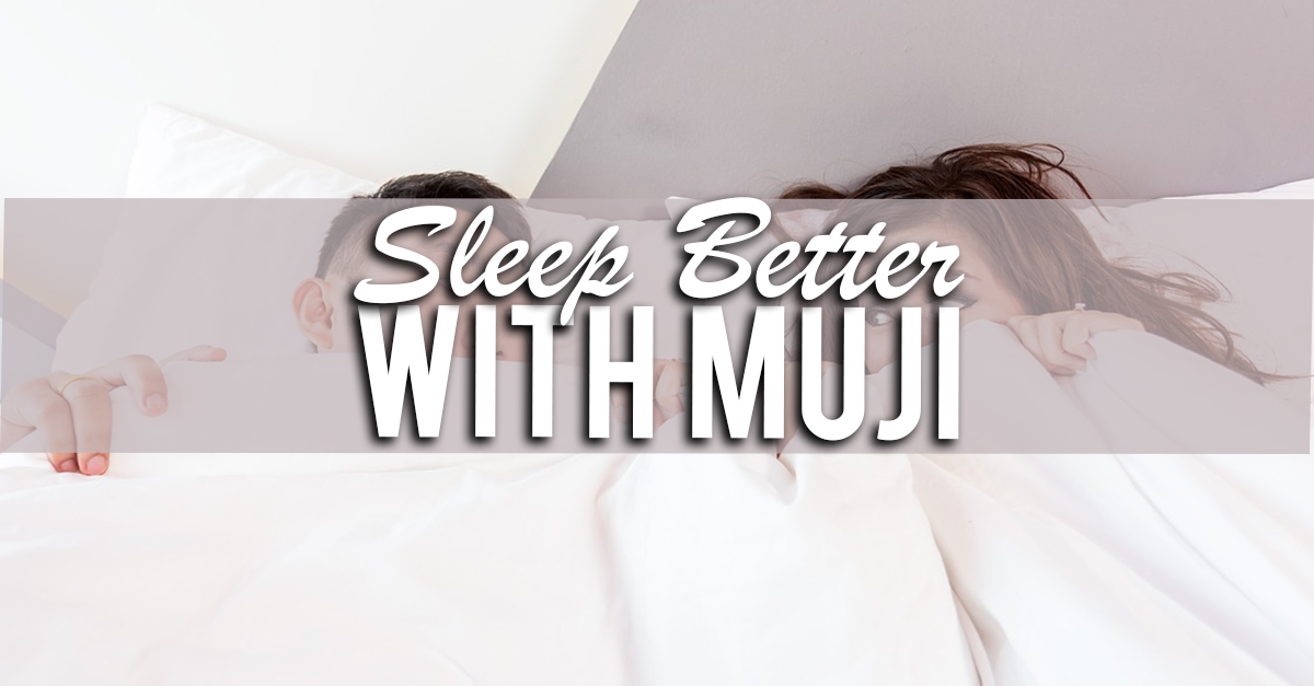 7 Items From Muji To Help You Sleep Better
