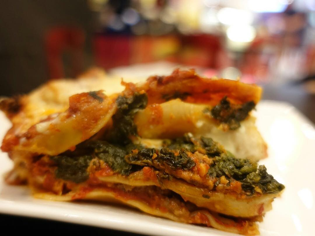 Super Dario Lasagne Cafe unique flavours lasagne