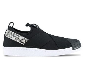 Adidas Originals Superstar on Zalora in Black