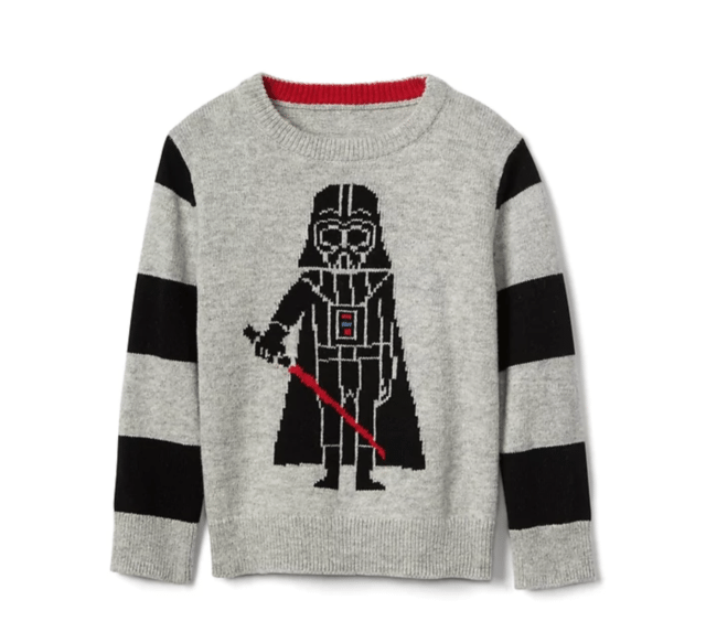 Gap's Star Wars™ intarsia crewneck sweater