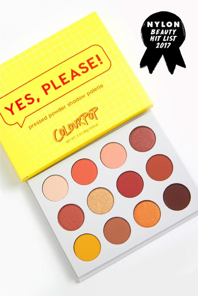 Colourpop YES PLEASE! eyeshadow palette