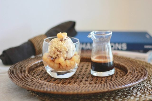 affogato dessert