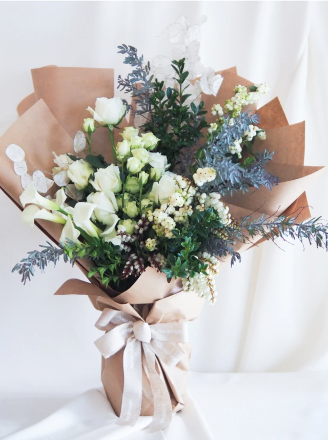 Floral Magic Omakase White Bouquet