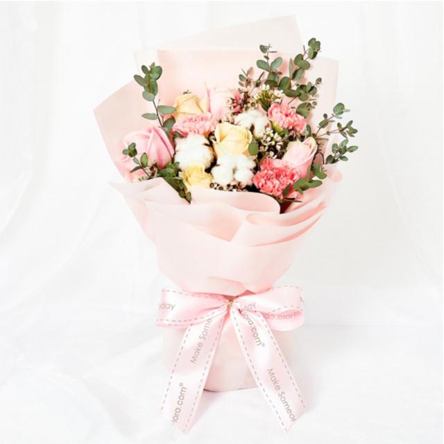 FarEastFlora Beauty In Pink Mother's Day Flower Bouquet