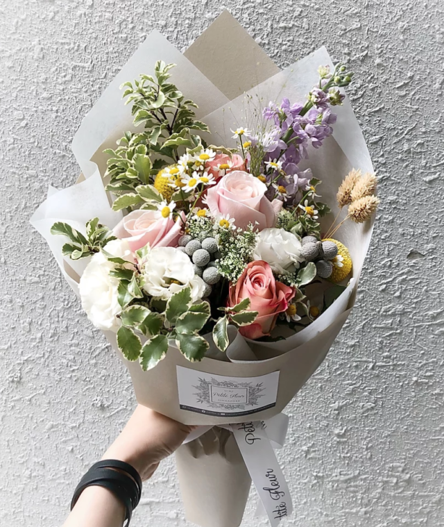 Mother's Day Bouquet, Mother of Pearl