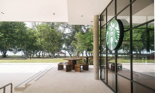 Starbucks Parkland Green