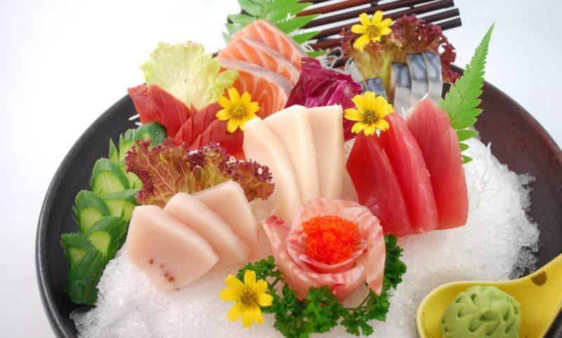 Tenkainichi sashimi set