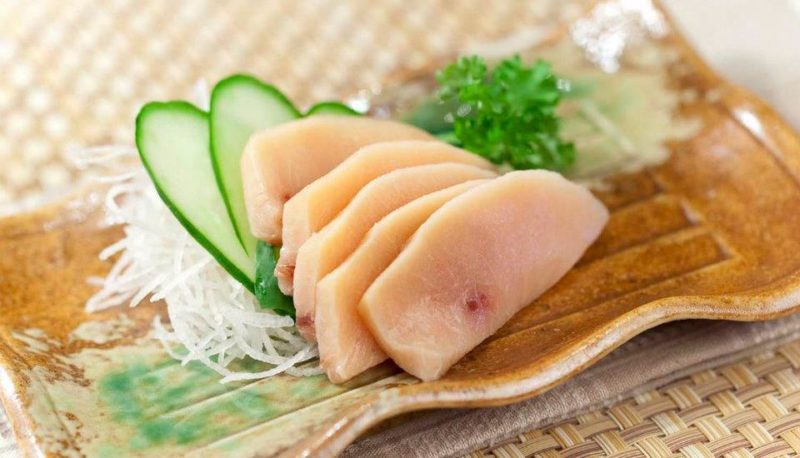 Tajimaya swordfish sashimi