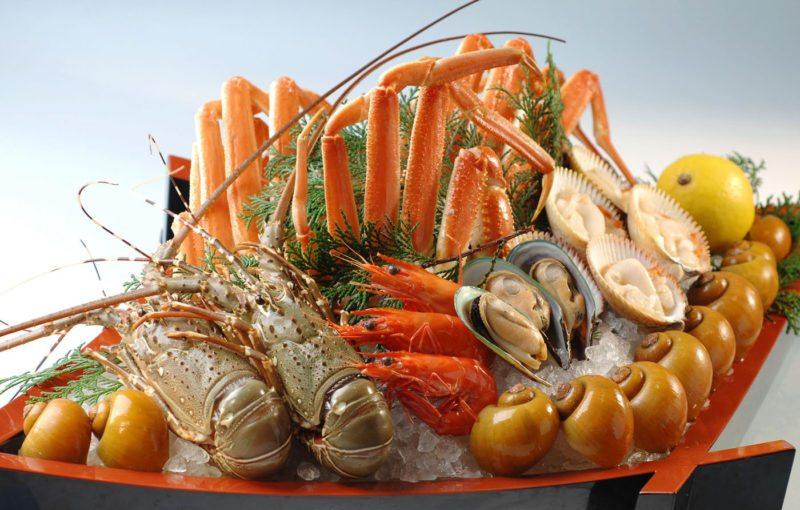 Kushin Bo seafood spread buffet