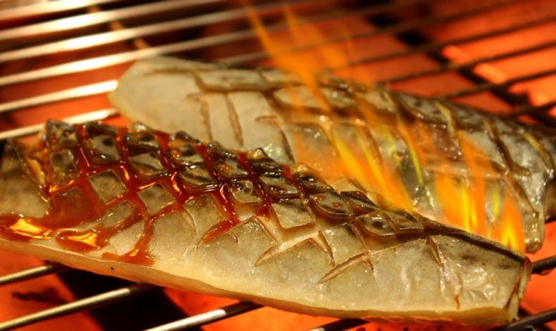 Shin Minori Saba Teriyaki grilled fish