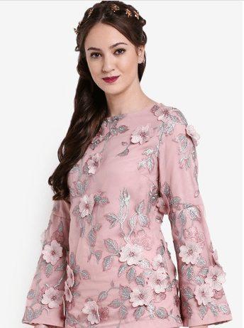 Zalia Floral Lace Tunic