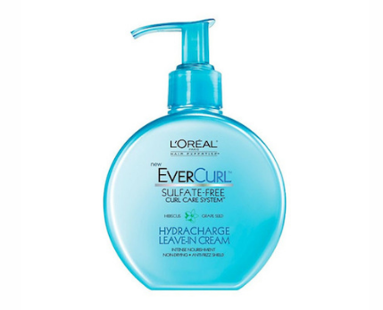 L'Oreal EverCurl Hydracharge Leave-In Cream