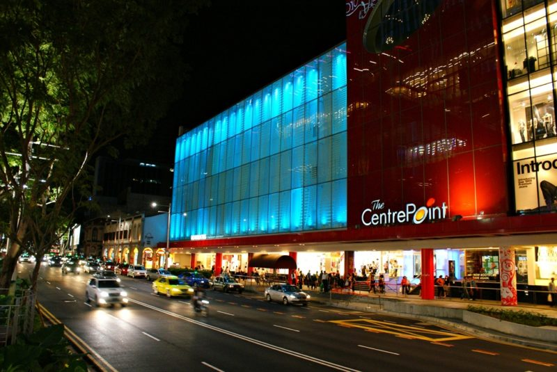 The Centrepoint Orchard Parking