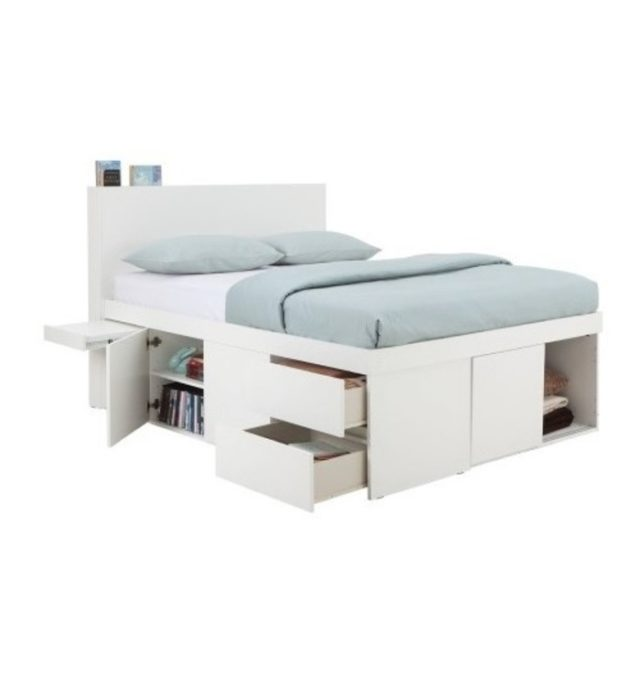 Click + I-Support - 5FT Multifunction Bedframe + 5FT Mattress