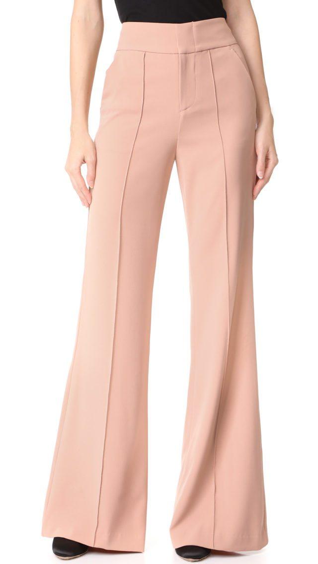 alice + Olivia Dawn High Waisted Pants