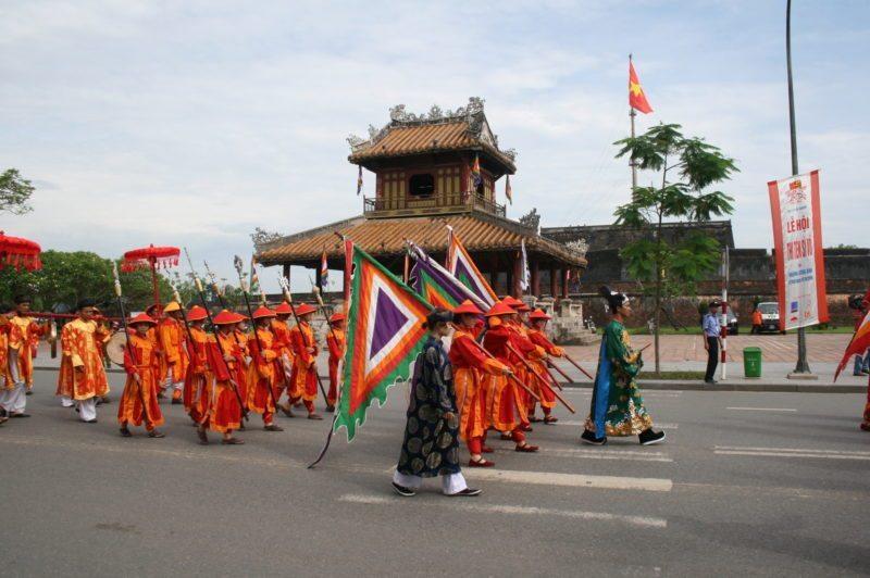 Hue Festival Vietnam Parade