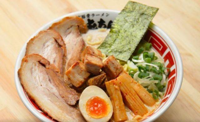 Ramen dish from Tonchin