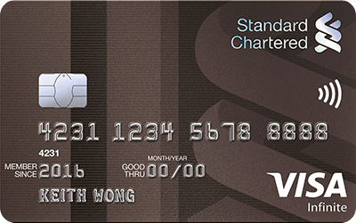 Standard Chartered Credit Card Travel Insurance Singapore