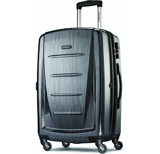 Samsonite Sigma 76cm Expandable Spinner credit card free promotion