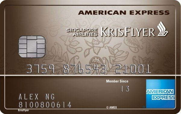 American Express Singapore Airlines KrisFlyer Ascend Credit Card Promotion