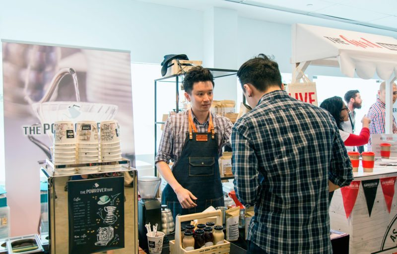 Singapore Coffee Fest 2016 at F1 Pit Building