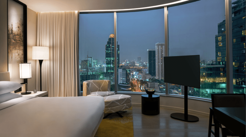 Park Hyatt Bangkok Deluxe Room (Corner Room)