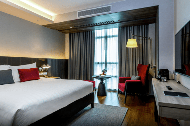 Premium Deluxe Room with Balcony and King-Sized Bed