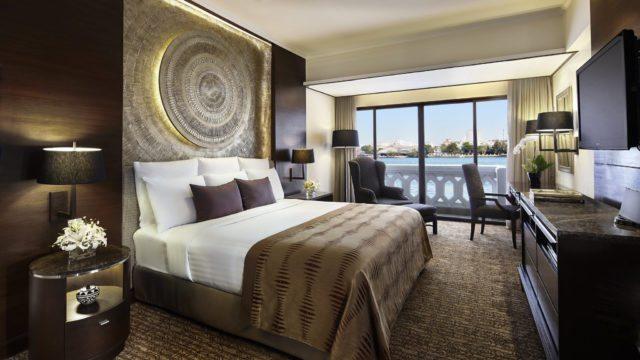 Antara Riverfront Suite Bedroom