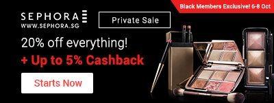 Sephora Black Sale