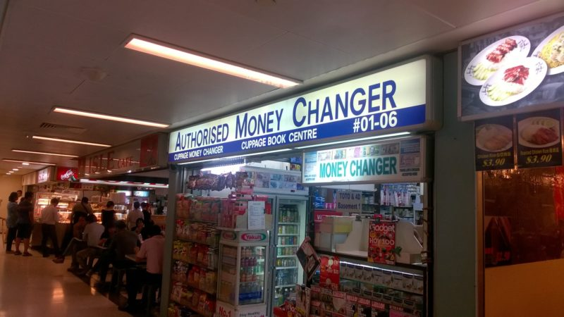 Cuppage Money Changer at Cuppage Plaza